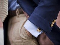 Мужские запонки: шесть лучших для новогодних праздников
