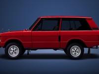 Видео эволюции Range Rover с 1969 года