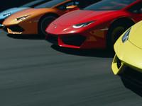 Lamborghini Huracan: эпичная реклама с крутыми суперкарами