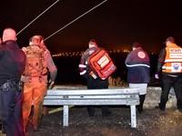Автобус сорвался с высоты 70 метров в Израиле, есть погибшие