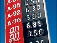 Бензин дешевеет
