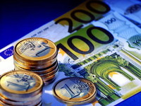 Евро падает