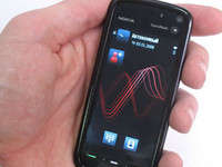Вопрос читателя - телефон с сенсорным экраном