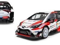 Toyota представила свой болид и состав команды на чемпионат мира по ралли