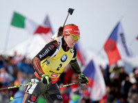 ЧМ по биатлону: Далмайер выиграла гонку преследования, Меркушина - восьмая