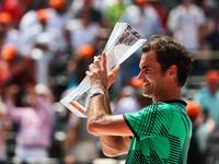 Федерер обыграл Надаля и выиграл титул в Майами