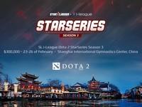 Dota 2: Онлайн трансляция турнира SL i-League StarSeries S3