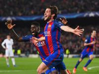 Барселона - первая команда, которая отыграла четыре гола в плей-офф Лиги чемпионов
