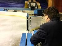 Министр спорта проинспектировал готовность Дворца Спорта к чемпионату мира по хоккею