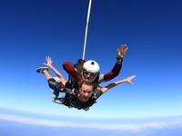 Ризатдинова прыгнула с парашютом в Дубае