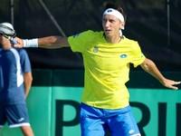 Кубок Дэвиса: Стаховский побеждает и выводит Украину в плей-офф