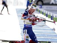Биатлон: Йоханнес Бе победил в мужском масс-старте, Семенов - 18-й