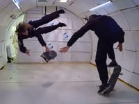 Скейтбординг в невесомости: Видео трюков от звезд экстрима