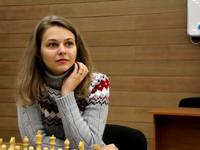 Украинская шахматистка сыграла вничью с грузинкой