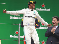 Хэмилтон выиграл Гран-при Китая