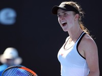 Свитолина прокомментировала победу в первом раунде Australian Open
