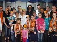 Шахтер посетил детей в харьковской больнице