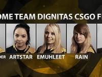 Dignitas подписала женский состав по CS:GO