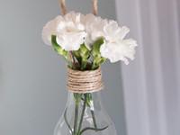 Идеи для дома: необычные вазочки, которые можно сделать своими руками