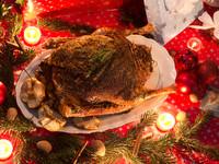Рождественский гусь с гречкой