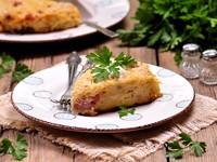 Фриттата с картофелем и беконом