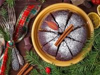 Итальянский рождественский пирог с шоколадом