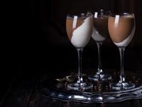 Шоколадно-ванильная панна котта