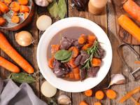 Зимнее жаркое из говядины и овощей