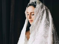 Грузинский дизайнер пошил свадебное платье Джамале