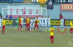 Странная стенка Динамо: как Гонсалес защищал фотографа от мяча