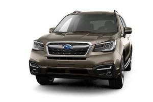 Subaru Forester выпустили в уникальной комплектации