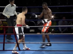 Боксер нокаутировал соперника за понты в ринге