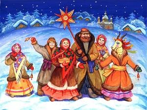 Щедрівки для дорослих: прикольні тексти українською мовою