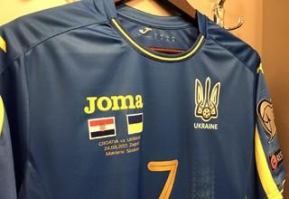ФФУ представила новую форму сборной Украины по футболу