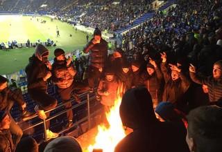 Харьков могут лишить футбола из-за поведения фанатов на матче сборной