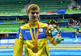 Украина выиграла шесть золотых медалей во второй день Паралимпиады
