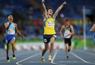 Украинский легкоатлет добыл очередную золотую медаль на Паралимпиаде