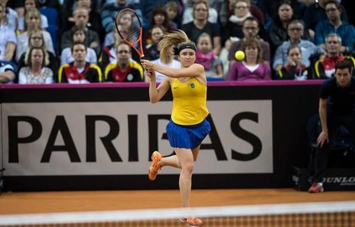 Свитолина в четвертый раз кряду победила первую ракетку мира Кербер