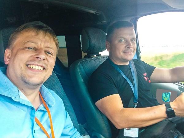 Украинские добровольцы уже на свободе