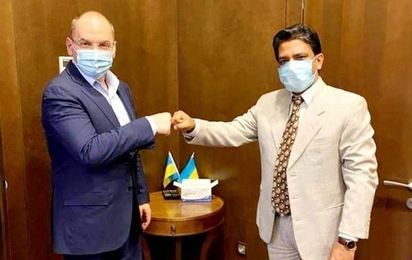 Украина получит много вакцин из Индии – посольство0