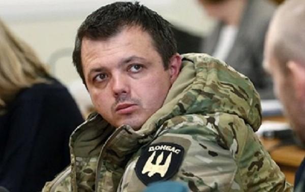 Арестованный экс-нардеп Семенченко попал в больницу0