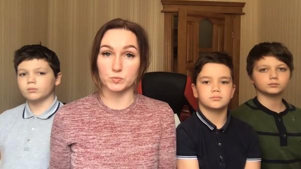 Жена Семенченко записала видеобращение к Зеленскому0
