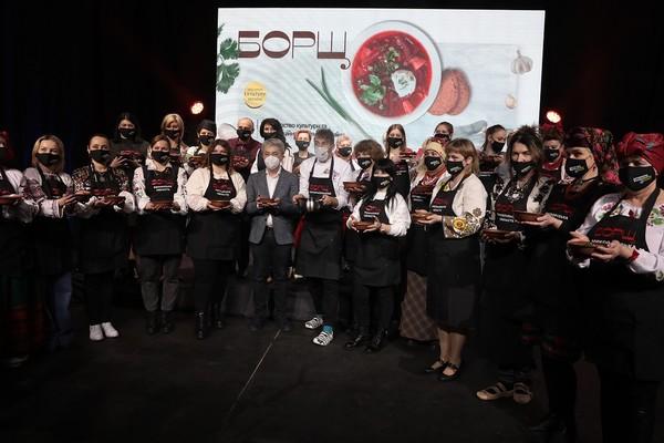 Фестиваль борща внесен в Книгу рекордов Украины0