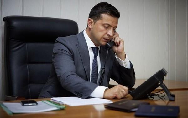 Зеленский обсудил Донбасс с генсеком ООН0