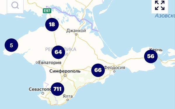 У Навального отказались исправить карту с российским Крымом0