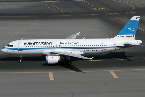 Самолет Kuwait Airways