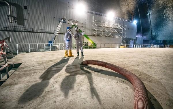 Чернобыльская АЭС переходит на особый режим работы0