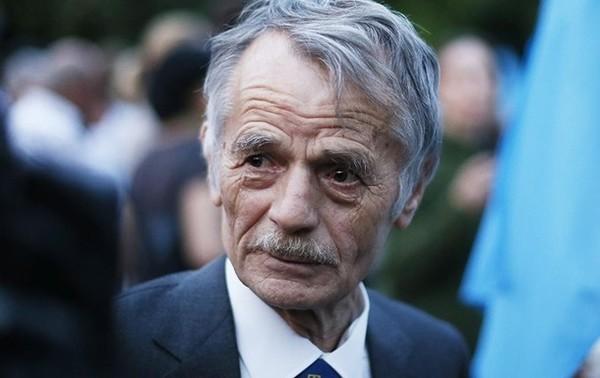 Бывший глава Меджлиса крымскотатарского народа Мустафа Джемилев