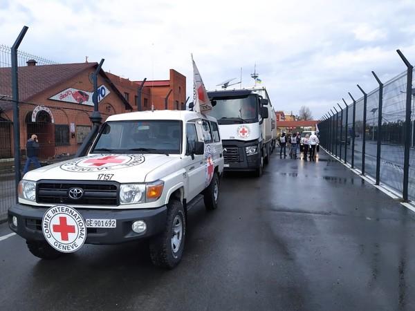 Красный Крест отправил еще 100 тон гуманитарной помощи в ОРДЛО0