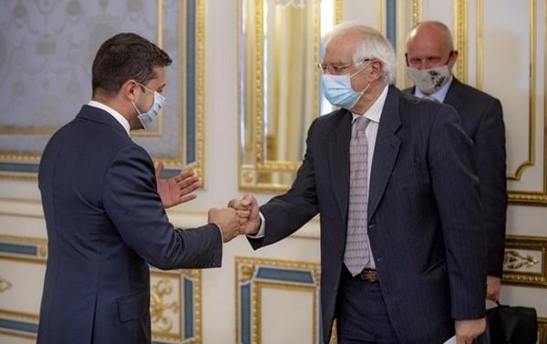 На этой неделе Боррель посетил Украину